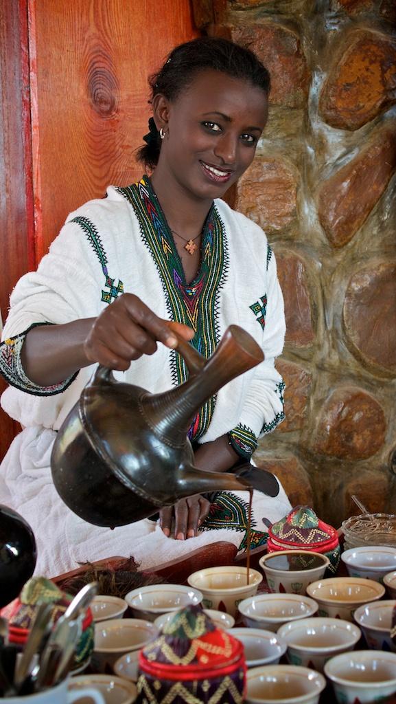 Café surgiu na Etiópia